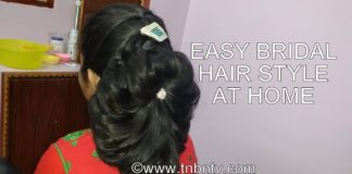 How to Make Easy Hairstyle at Home   Hair Hacks for Short Hair   TNBNTv
