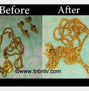 How to clean Gold Jewellery at home | simple life hacks | TNBNTv